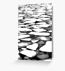 Floes Greeting Card