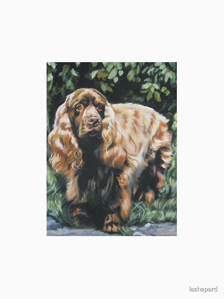 Sussex Spaniel Fine Art Painting by lashepard