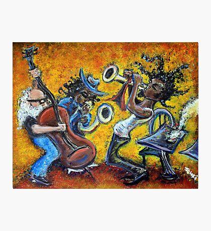 The Jazz Trio Photographic Print