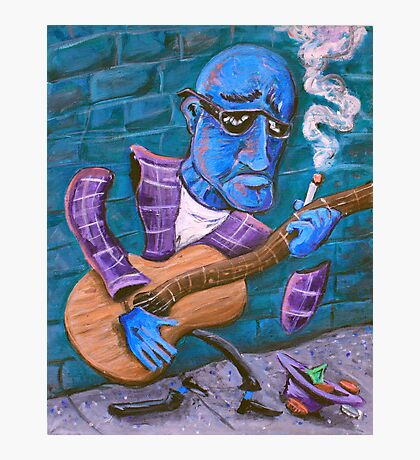 Po' Man's Blues Photographic Print