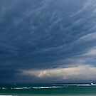 Untitled- Blue Beach Clouds by claire-virgona