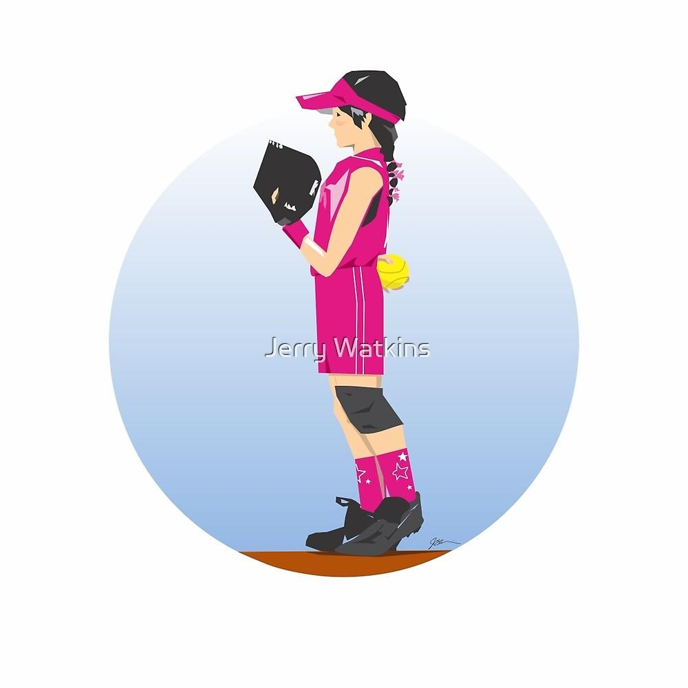 Softball Pinkie by Jerry Watkins