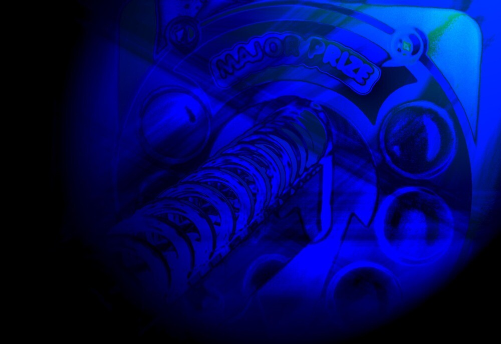 Deep Blue Arcade by Nicole  Simpson