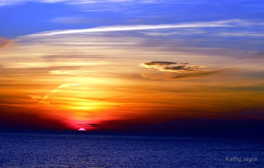 Sunset Over The Atlantic by Funmilayo Nyree