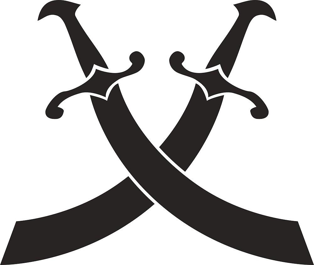 pirat saber sword icon  by alexrow
