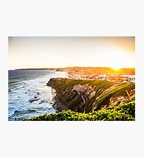 Bar Beach Sunset Photographic Print