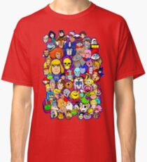 saturday morning collage Classic T-Shirt