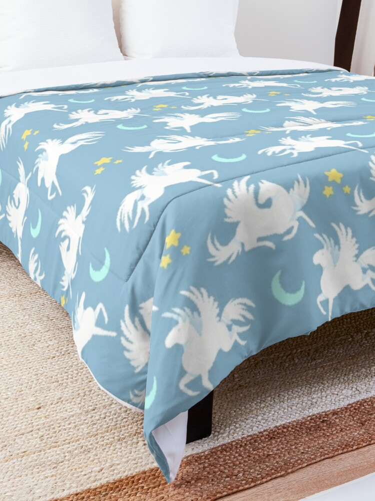 Alternate view of 'Til You See Pegasi Comforter