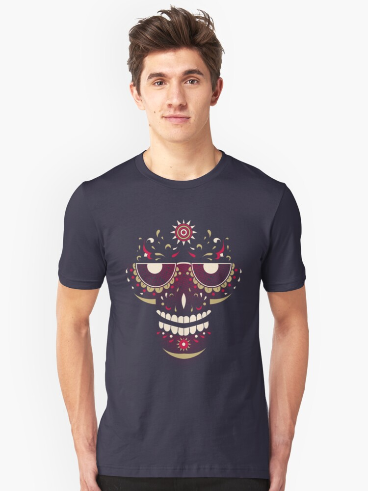 Mexi Voodoo Day Unisex T-Shirt Front