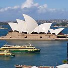Sydney Harbour, Sydney Cove, Opera House. by johnrf