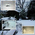 It's been snowing in buckets......G O I N G ~ g o i n g ~ G O N E !!!!! by Larry Llewellyn