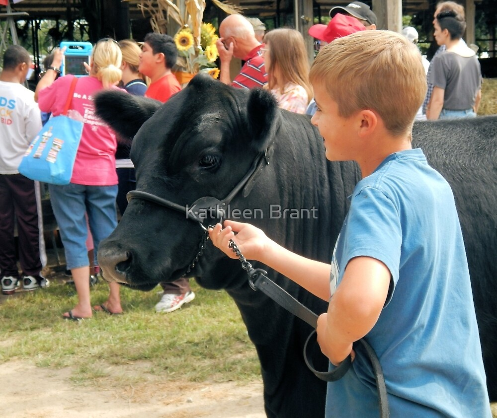 Showing his Cow by Kathleen Brant