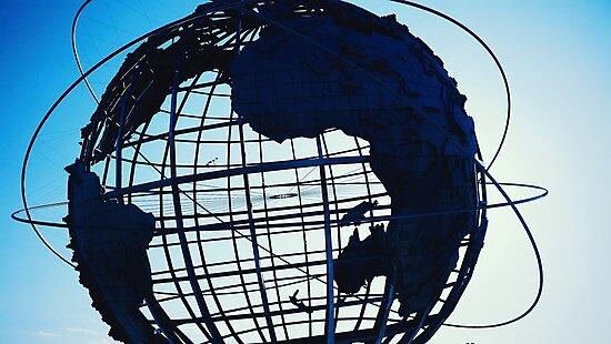 Flushing Meadows Globe by alegca