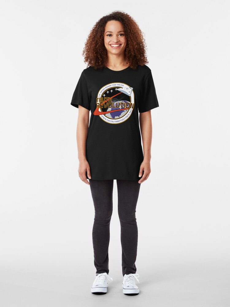 T-shirt ajusté ''Truth Revolution Space Mission Logo 3' : autre vue
