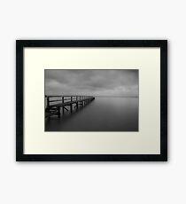 Tideways Jetty Framed Print