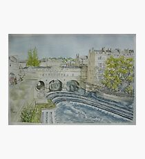 Pultney Bridge, Bath Photographic Print