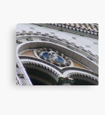 Architechural Details E Building, at 14 Floors Up. Canvas Print