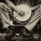 Picking the Banjo  by KellyHeaton