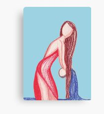 water bearer Canvas Print
