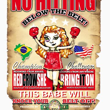 no hitting below the belt by redboy