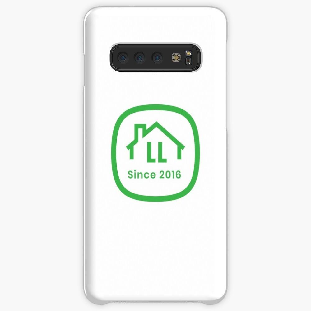 LL White Badge Samsung Galaxy Snap Case