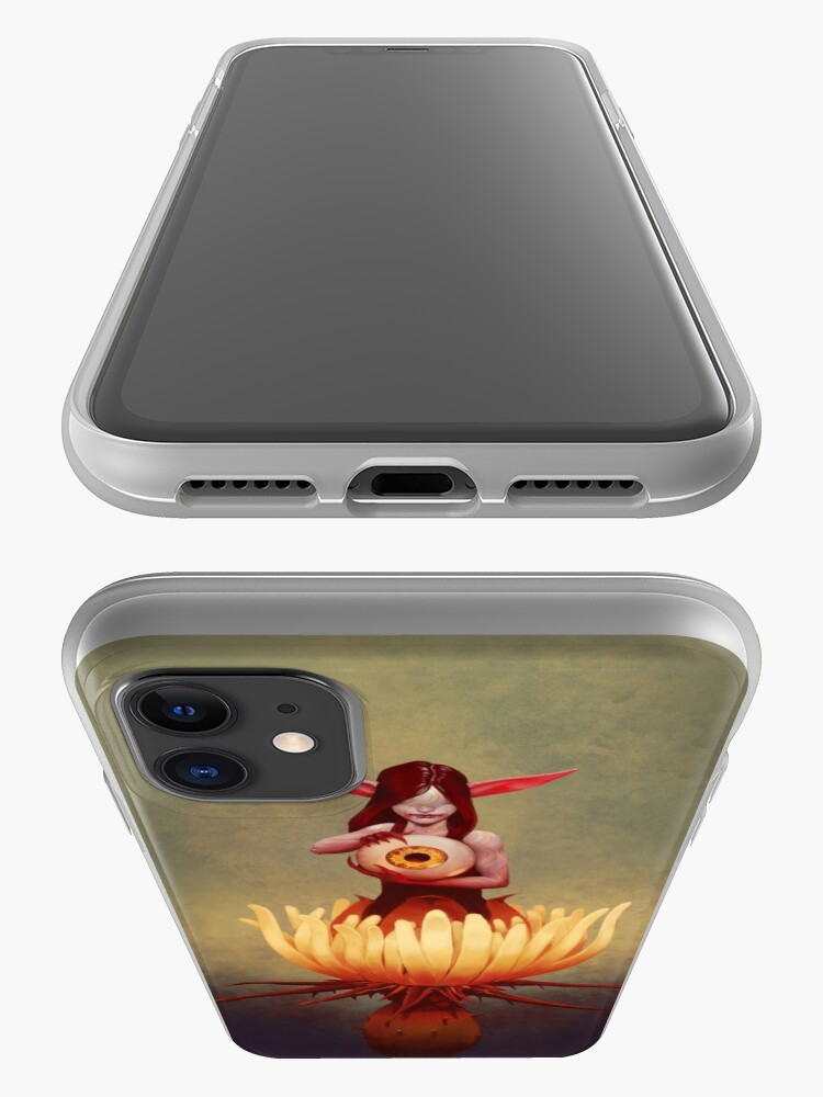 Alternate view of Thistle Fairy | Digital Illustration iPhone Case & Cover
