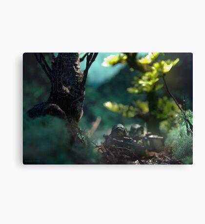 Lego jungle swamp Canvas Print