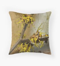 Hamamelis Throw Pillow
