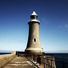 Tynemouth Lighthouse by Ladymoose
