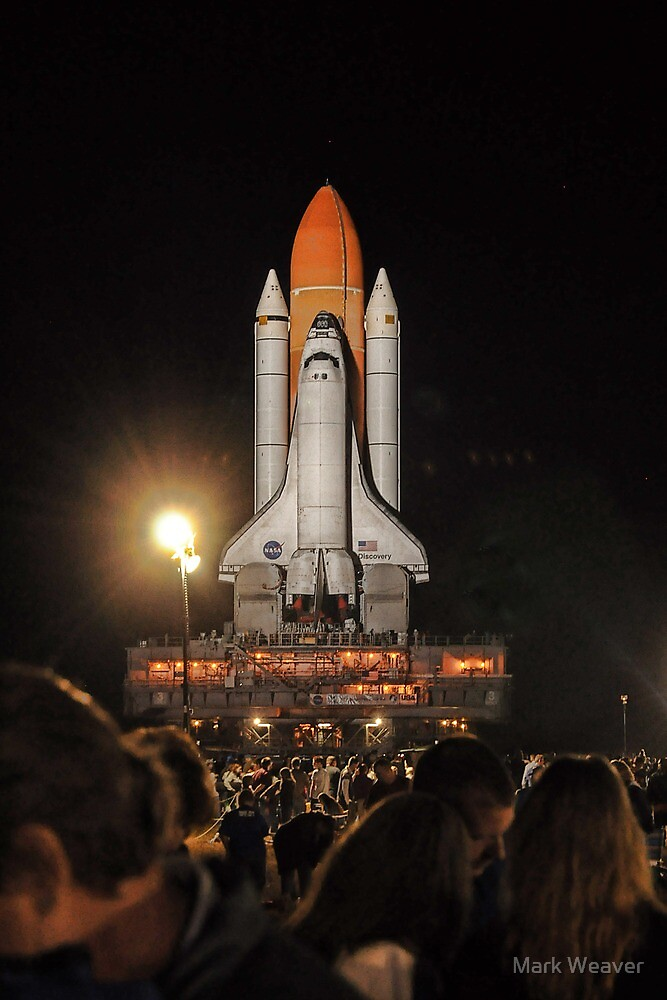 Discovery's Last Rollout by Mark Weaver