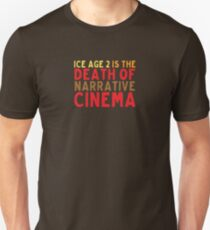 Death of Narrative Cinema Unisex T-Shirt