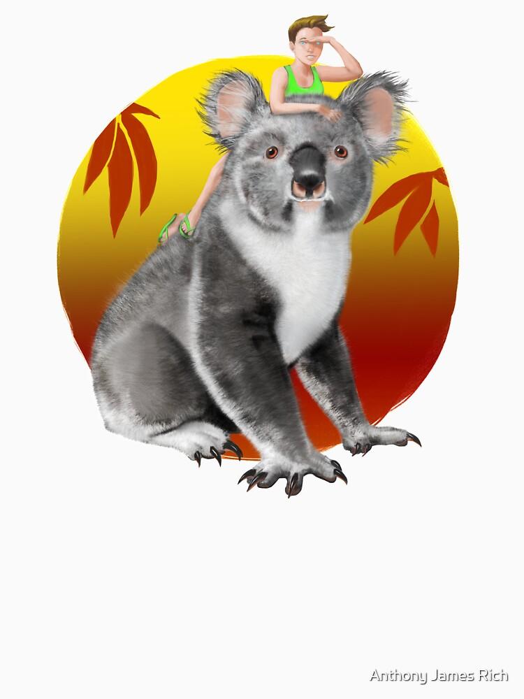 Koala-ity View | Digital Illustration by AJRart