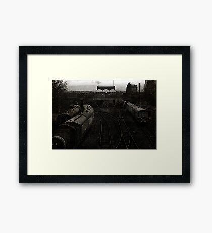 Great Central Station, Loughborough Framed Print