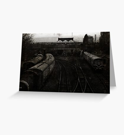 Great Central Station, Loughborough Greeting Card