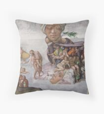 M Blackwell - The Tragedy of Age... Throw Pillow