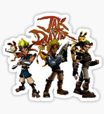 Jak and Daxter Sticker