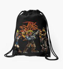 Jak and Daxter Drawstring Bag