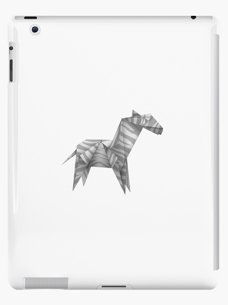 Horse folding paper by Halfpen