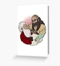 Balin and Dwalin Greeting Card