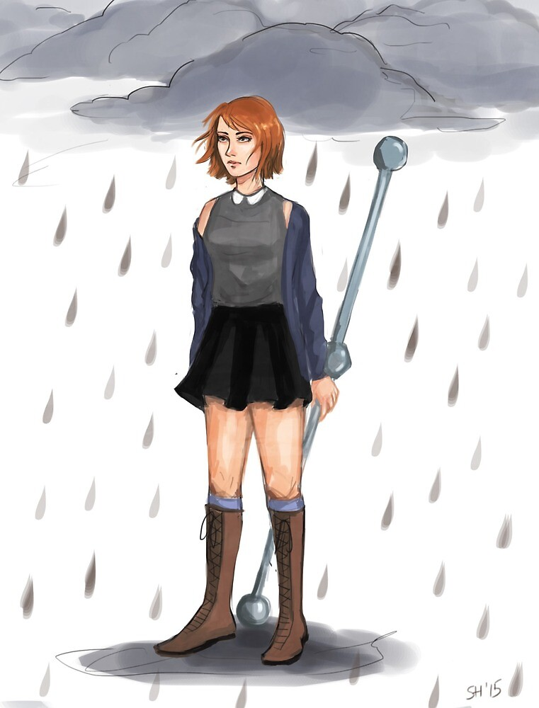 One Piece- Rainy by tinyforests