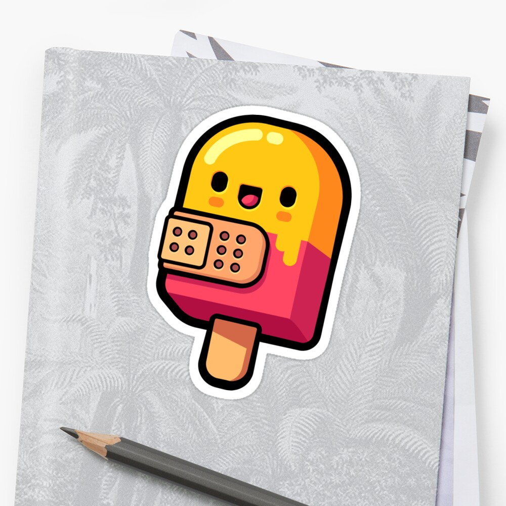 Ice Pop Drop Sticker