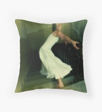 Stair crawl Throw Pillow