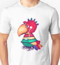 rasta parrot Unisex T-Shirt