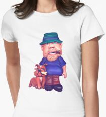 people look like their pets Women's Fitted T-Shirt