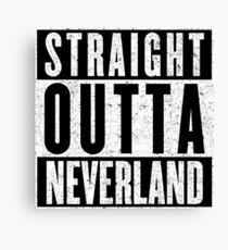 Neverland Represent! Canvas Print
