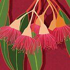 Pink Flowering Gum by blueidesign