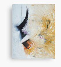 Yellow wind Canvas Print