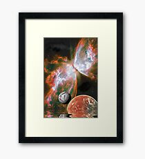 Wrapped in Light Framed Print