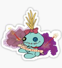 Stay Weird with Scrump Sticker