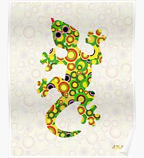 Little Lizard - Animal Art Poster